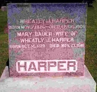 HARPER, WHEATLY JEFFERSON - Madison County, Iowa | WHEATLY JEFFERSON HARPER