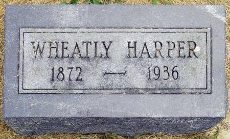 HARPER, WHEATLY MICHAEL - Madison County, Iowa | WHEATLY MICHAEL HARPER