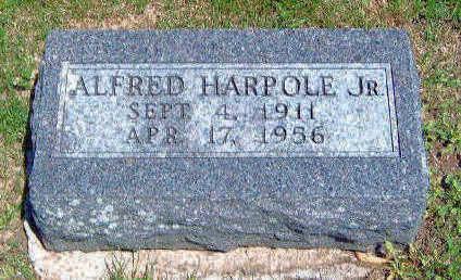 HARPOLE, AFLRED ALPHONSO, JR. - Madison County, Iowa | AFLRED ALPHONSO, JR. HARPOLE