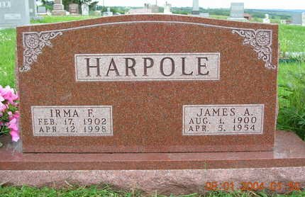 HARPOLE, JAMES ALBERT - Madison County, Iowa | JAMES ALBERT HARPOLE