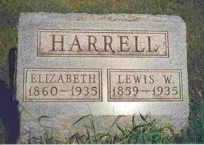 HARRELL, LEWIS WILLIAM - Madison County, Iowa | LEWIS WILLIAM HARRELL