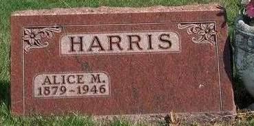 HARRIS, ALICE MARGARET - Madison County, Iowa | ALICE MARGARET HARRIS