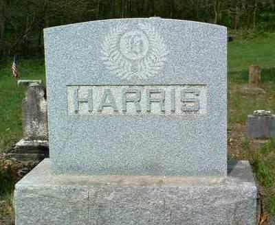 HARRIS, FAMILY HEADSTONE - Madison County, Iowa   FAMILY HEADSTONE HARRIS