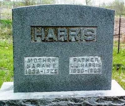 HARRIS, SARAH ELIZABETH - Madison County, Iowa | SARAH ELIZABETH HARRIS