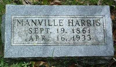HARRIS, MANVILLE ELSWORTH - Madison County, Iowa | MANVILLE ELSWORTH HARRIS