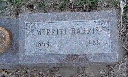 HARRIS, MERRITT W. - Madison County, Iowa | MERRITT W. HARRIS