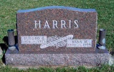 HARRIS, BUFORD GROVER - Madison County, Iowa | BUFORD GROVER HARRIS