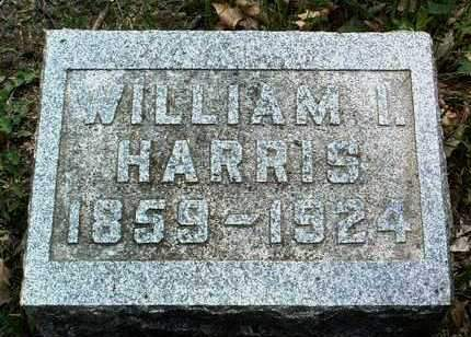 HARRIS, WILLIAM IRVIN - Madison County, Iowa | WILLIAM IRVIN HARRIS