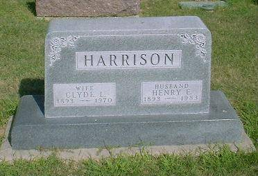 HARRISON, CLYDE & HENRY - Madison County, Iowa | CLYDE & HENRY HARRISON