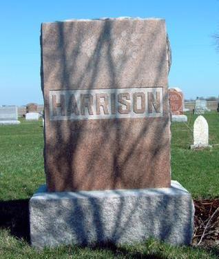 HARRISON, FAMILY STONE - Madison County, Iowa   FAMILY STONE HARRISON