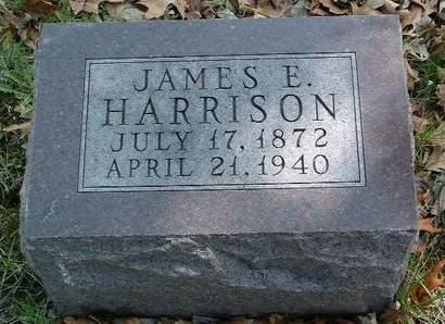 HARRISON, JAMES E. - Madison County, Iowa | JAMES E. HARRISON