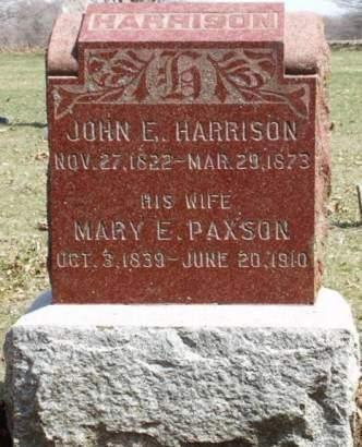 PAXSON HARRISON, MARY ELIZABETH - Madison County, Iowa | MARY ELIZABETH PAXSON HARRISON