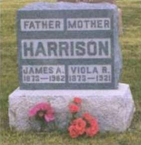 HARRISON, VIOLA REBECCA - Madison County, Iowa | VIOLA REBECCA HARRISON