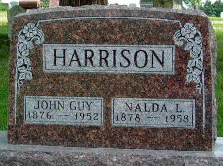 HARRISON, JOHN GUY - Madison County, Iowa | JOHN GUY HARRISON