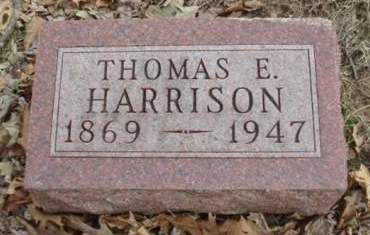 HARRISON, THOMAS ELMER - Madison County, Iowa | THOMAS ELMER HARRISON