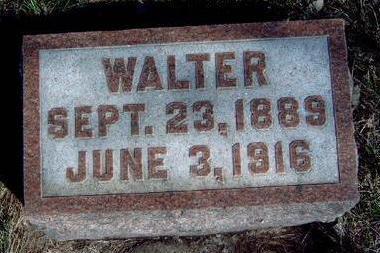 HARRISON, WALTER - Madison County, Iowa | WALTER HARRISON