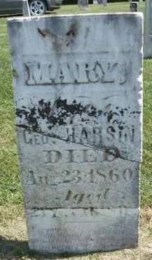 HARSIN, MARY F. - Madison County, Iowa | MARY F. HARSIN