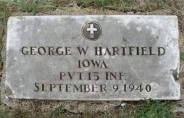 HARTFIELD, GEORGE W. - Madison County, Iowa | GEORGE W. HARTFIELD