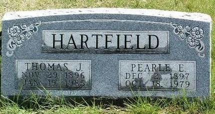 HARTFIELD, THOMAS J. - Madison County, Iowa   THOMAS J. HARTFIELD