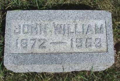HARTLEY, JOHN WILLIAM - Madison County, Iowa | JOHN WILLIAM HARTLEY