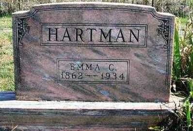 HARTMAN, EMMA CATHERINE - Madison County, Iowa   EMMA CATHERINE HARTMAN
