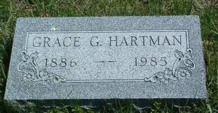 HARTMAN, GRACE M. - Madison County, Iowa | GRACE M. HARTMAN