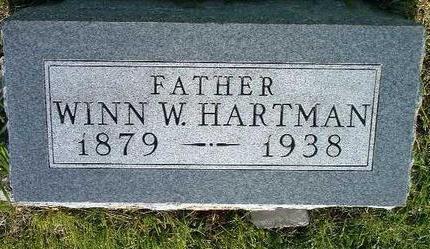 HARTMAN, WINN W. - Madison County, Iowa | WINN W. HARTMAN