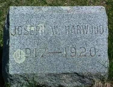 HARWOOD, JOSEPH WOODROW - Madison County, Iowa | JOSEPH WOODROW HARWOOD