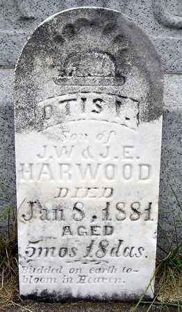 HARWOOD, OTIS I. - Madison County, Iowa   OTIS I. HARWOOD