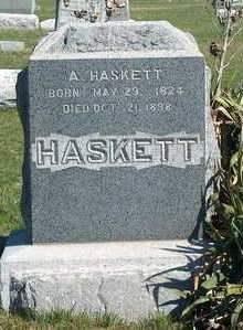 HASKETT, ANTHONY - Madison County, Iowa   ANTHONY HASKETT