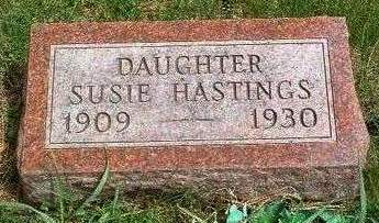 HASTINGS, SUSIE - Madison County, Iowa | SUSIE HASTINGS