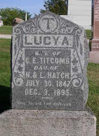 HATCH TITCOMB, LUCY A. - Madison County, Iowa | LUCY A. HATCH TITCOMB