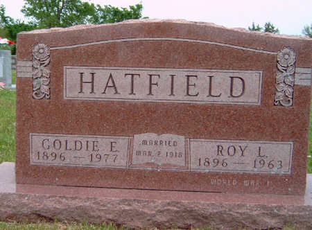 HATFIELD, GOLDIE EVELYN - Madison County, Iowa | GOLDIE EVELYN HATFIELD
