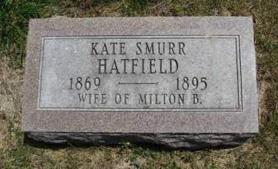 HATFIELD, KATE - Madison County, Iowa | KATE HATFIELD