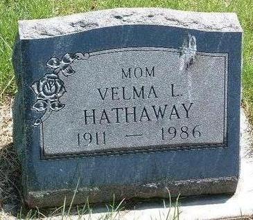 HATHAWAY, VELMA L. - Madison County, Iowa | VELMA L. HATHAWAY