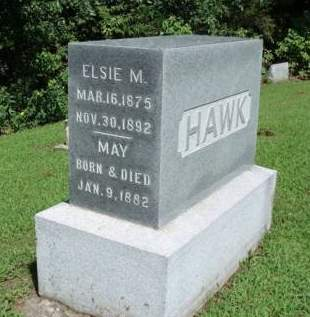 HAWK, ELSIE MALVINA - Madison County, Iowa | ELSIE MALVINA HAWK