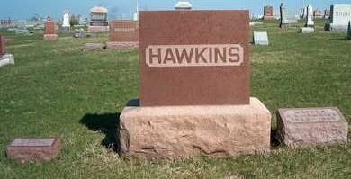 HAWKINS, FAMILY STONE - Madison County, Iowa   FAMILY STONE HAWKINS