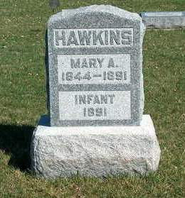 HAWKINS, MARY A. - Madison County, Iowa | MARY A. HAWKINS
