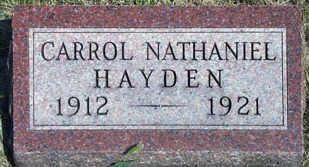 HAYDEN, CARROL NATHANIEL - Madison County, Iowa | CARROL NATHANIEL HAYDEN