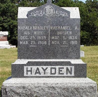HAYDEN, NATHANIEL A. - Madison County, Iowa | NATHANIEL A. HAYDEN
