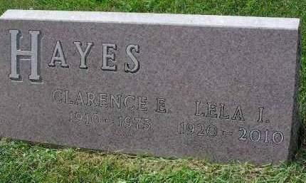 HAYES, LELA ILEAN - Madison County, Iowa | LELA ILEAN HAYES