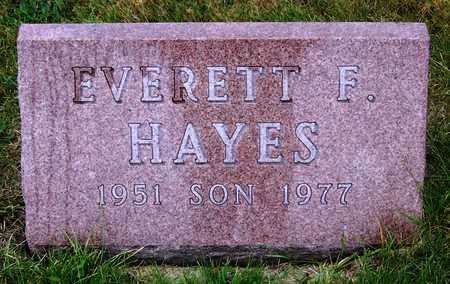 HAYES, EVERETT FRANCIS - Madison County, Iowa | EVERETT FRANCIS HAYES