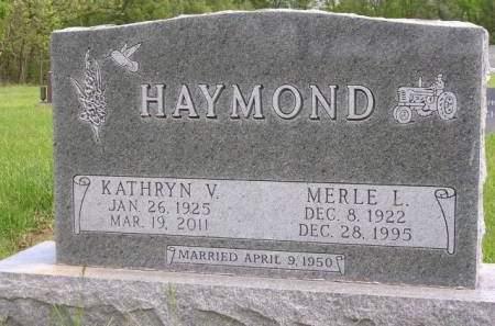 HAYMOND, KATHRYN VIOLA - Madison County, Iowa | KATHRYN VIOLA HAYMOND