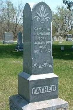 HAYMOND, SAMUEL A. - Madison County, Iowa   SAMUEL A. HAYMOND