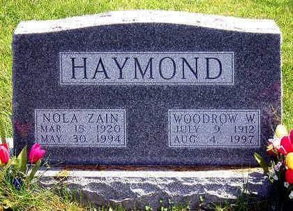 HIATT HAYMOND, NOLA ZAIN - Madison County, Iowa | NOLA ZAIN HIATT HAYMOND