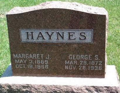 HAYNES, GEORGE SOLOMON - Madison County, Iowa | GEORGE SOLOMON HAYNES