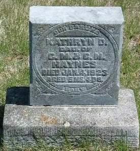 HAYNES, KATHRYN DELORES - Madison County, Iowa | KATHRYN DELORES HAYNES