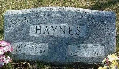 HAYNES, GLADYS VALID - Madison County, Iowa | GLADYS VALID HAYNES