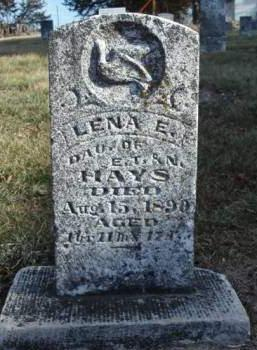 HAYS, LENA ETHEL - Madison County, Iowa | LENA ETHEL HAYS