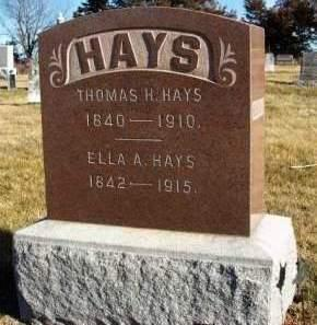 HAYS, THOMAS H. - Madison County, Iowa | THOMAS H. HAYS